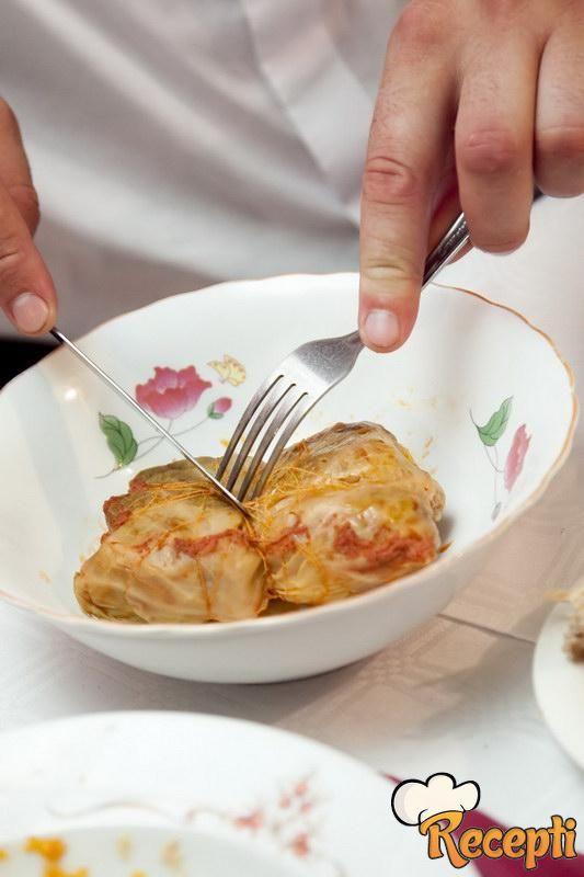 Sarma od kiselog kupusa sa pirinčem