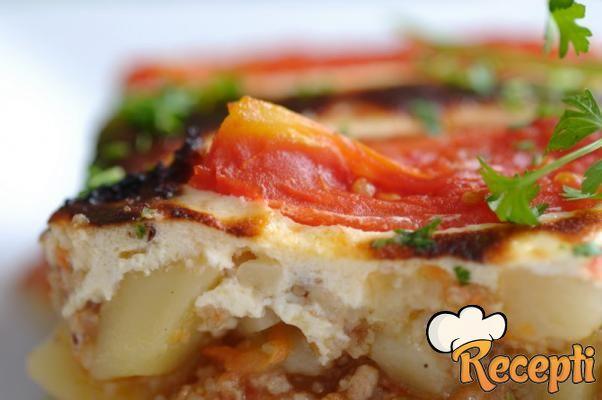 Musaka od povrća bez mesa