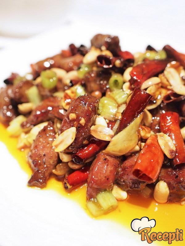 Povrće sa kikirikijem