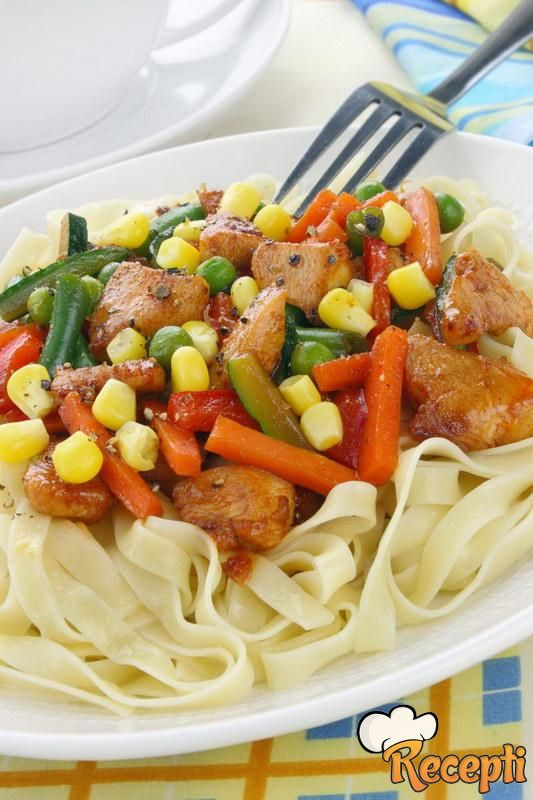 Šarene špagete