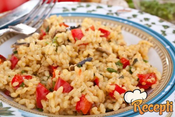 Đuveč od praziluka i pirinča