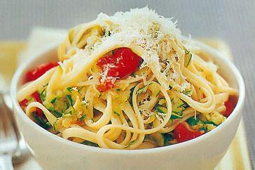 Špageti sa tikvicama