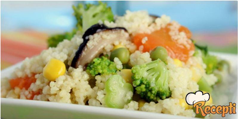 Kus-kus sa povrćem (2)