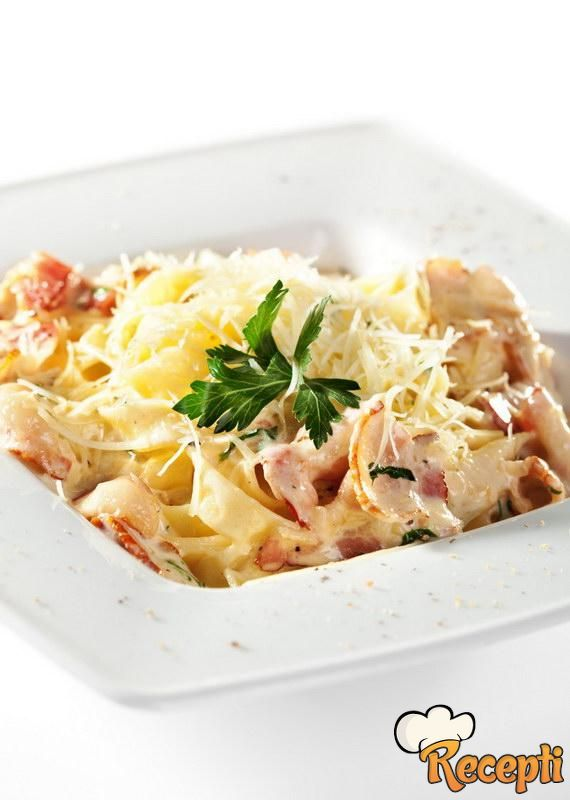 Karbonare sa povrćem