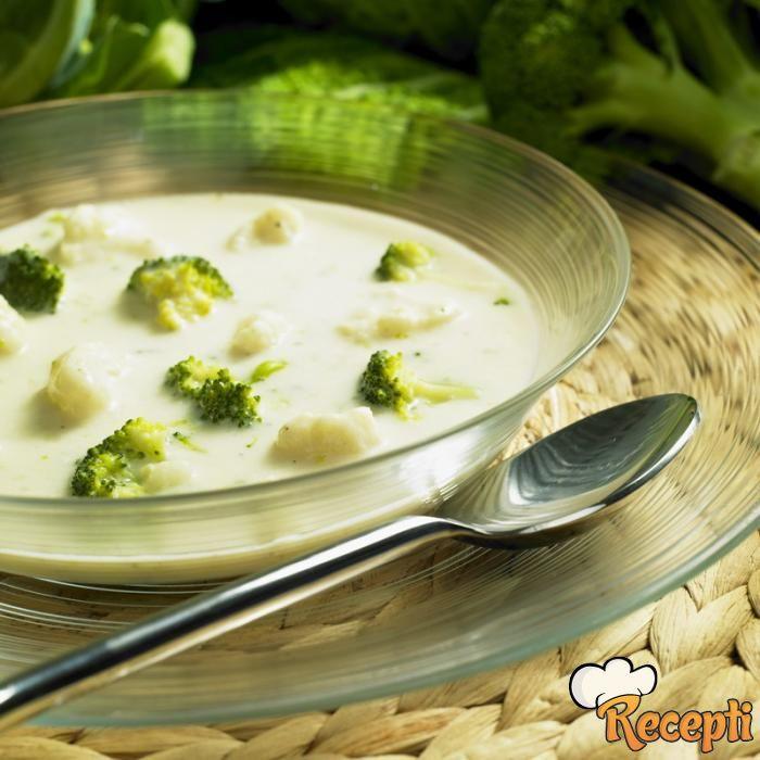 Čorba od brokolija i karfiola