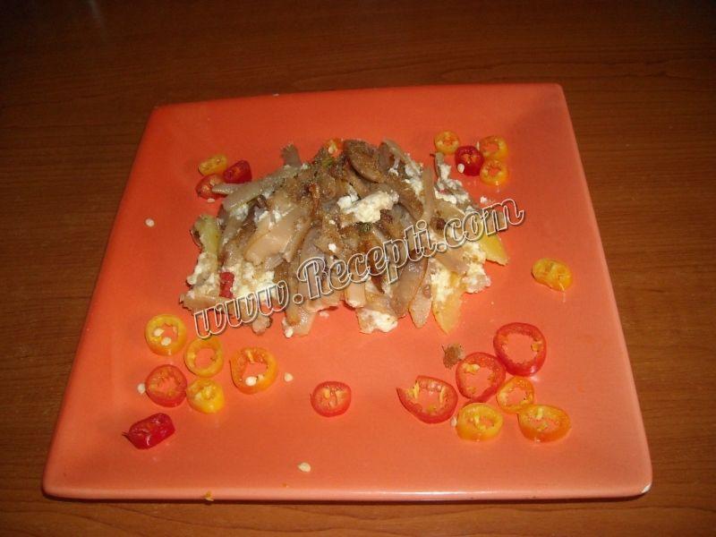 Musaka od boranije sa sirom