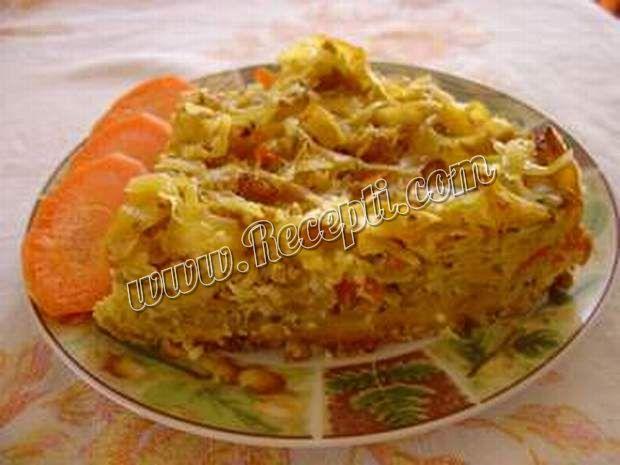 Musaka od rezanaca sa mesom i povrćem