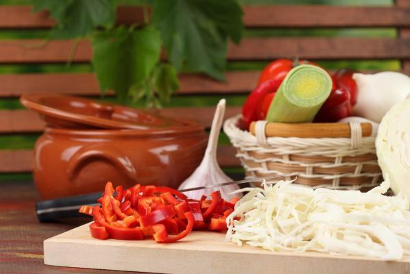 Rolat od mesa sa povrćem