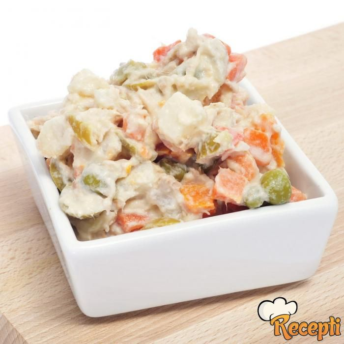 Posna ruska salata (2)