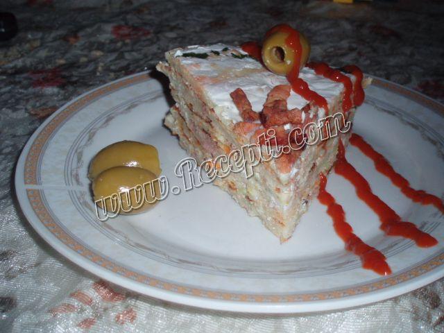 Slana torta od palačinki
