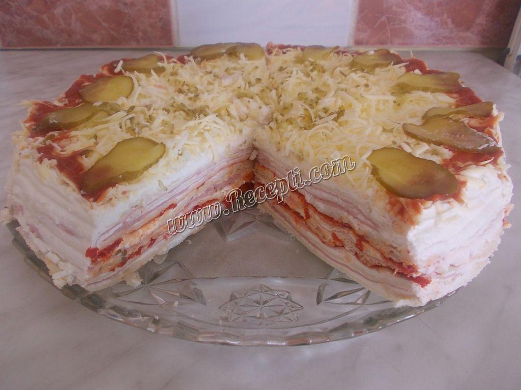 Lisnata slana torta