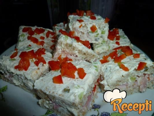 Slana torta sa tost hlebom (2)