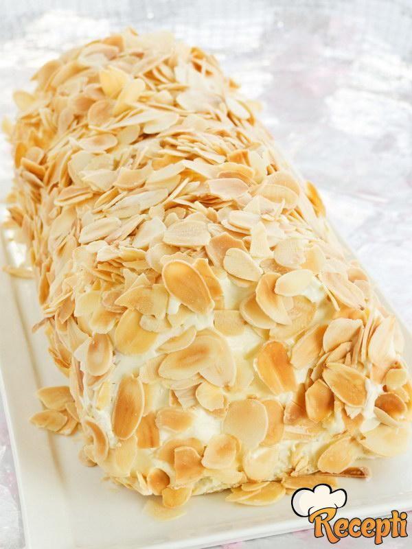 Rolat sa keksom i bananama