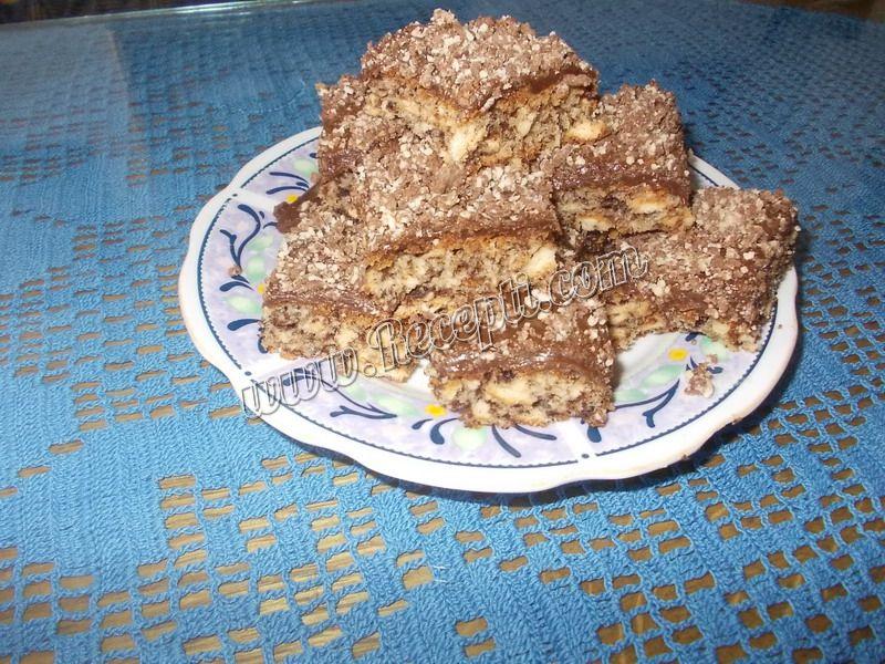 Čokoladni kolač sa keksom