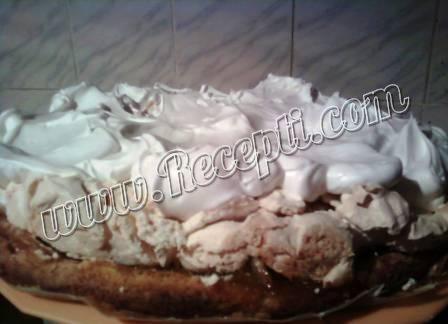 Osvežavajući kolač sa breskvama