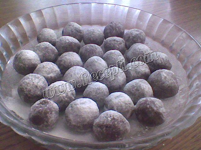 Čokoladne bombice sa lešnicima