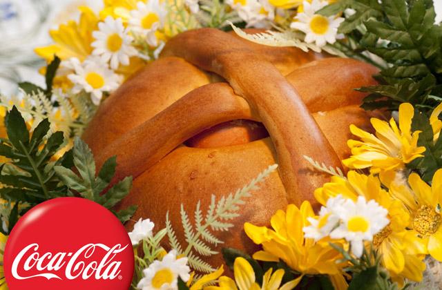 Slatki uskršnji hleb