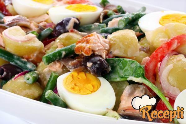 Salata od lososa