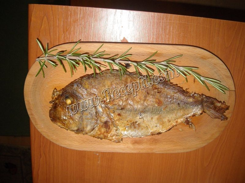 Pečena riba *Zubatac*