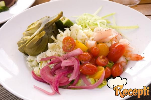 Zeleno-bela salata