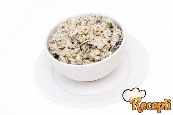 Salata od gljiva
