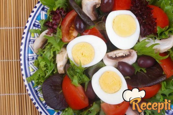 Salata od šampinjona (2)