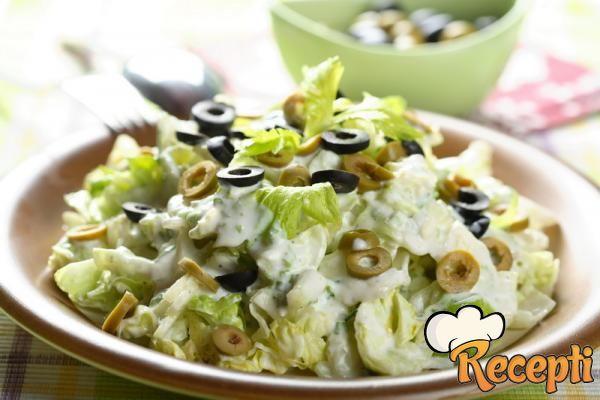 Salata od šunke sa šampinjonima