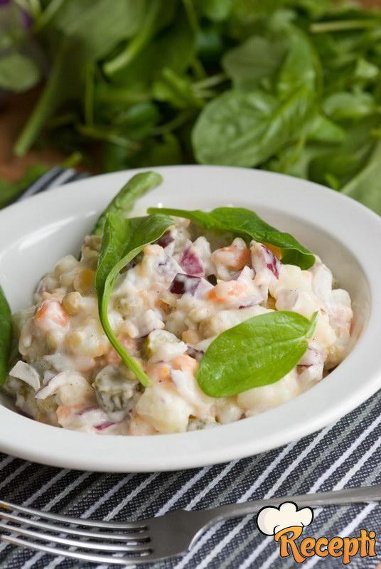Salata od graška i karfiola