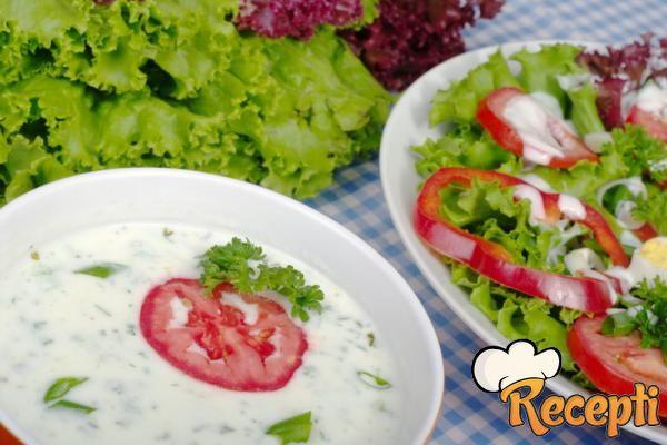 Salata od graška i praziluka