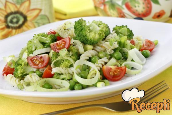 Salata od graška i šampinjona