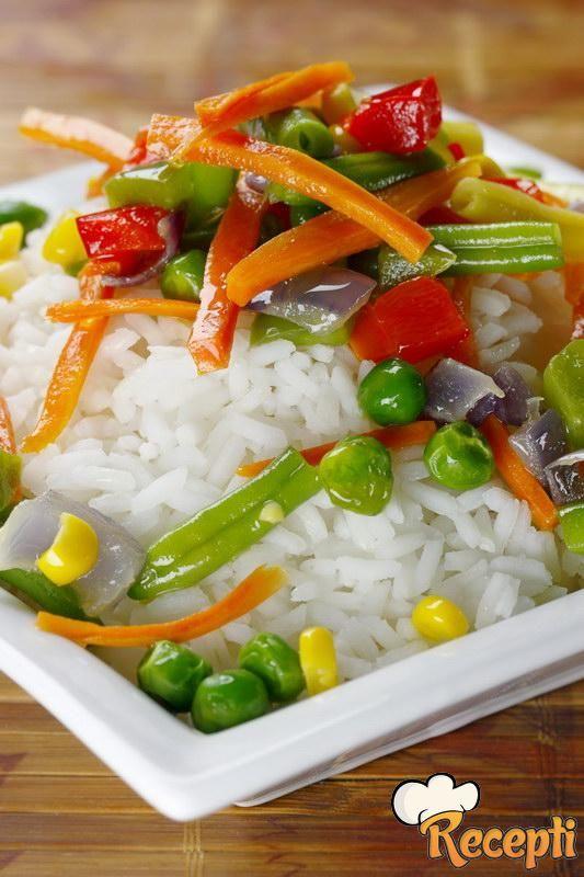 Salata od boranije i pirinča