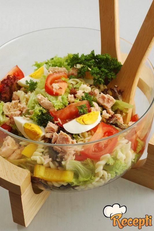 Salata od tunjevine sa makaronama