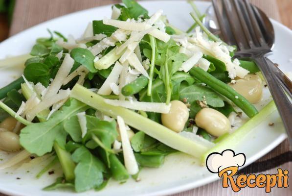 Salata od boranije i sira
