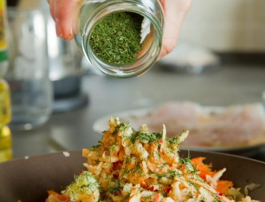 Salata od kuka (šparoga)