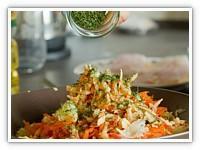 Meksička salata sa paprikom i šunkom