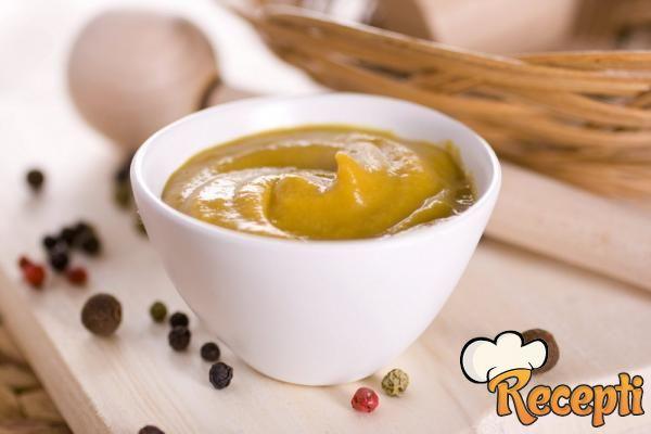 Domaći senf (posno)