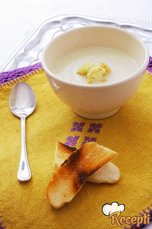 суп пюре из цветной капусты со сметаной