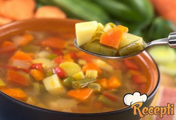 Supa od zeleni