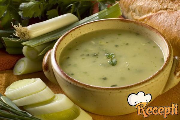 Supa od krompira i praziluka