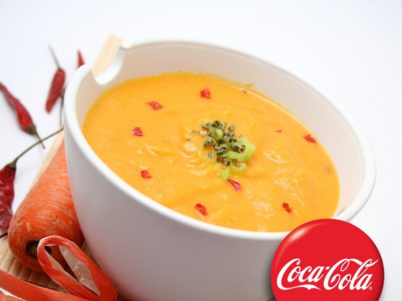 Supa od karija i šargarepe