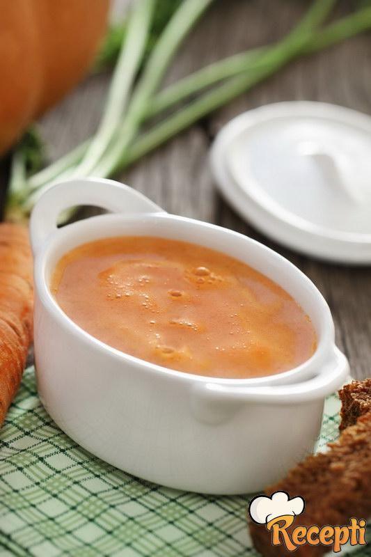 Supa od slanine i šargarepe