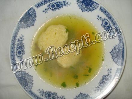 Supa sa knedlama od griza