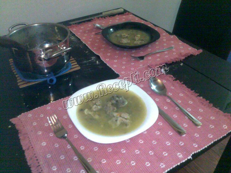 Čorbica sa teletinom i povrćem