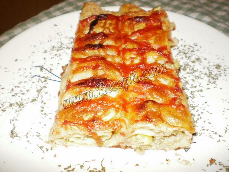 Mama Bokine zapečene tortilje