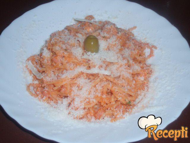Omlet sa špagetama