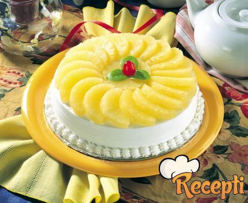 Torta od ananasa sa rumom