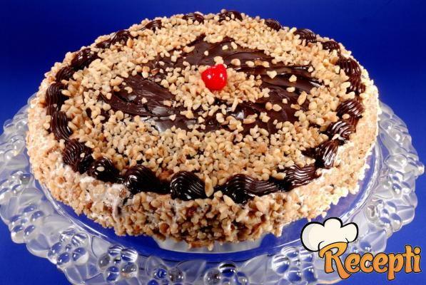 Sneg torta sa čokoladom