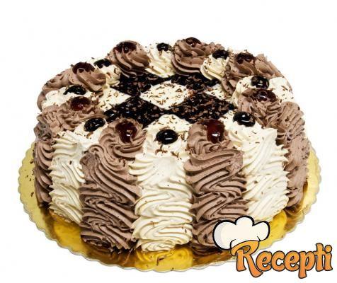 Moka torta u dve boje