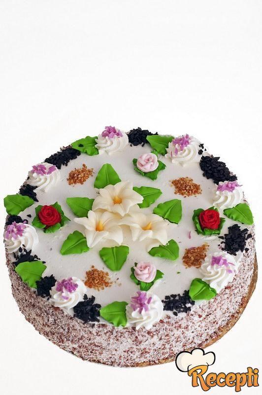 Mančmelou torta