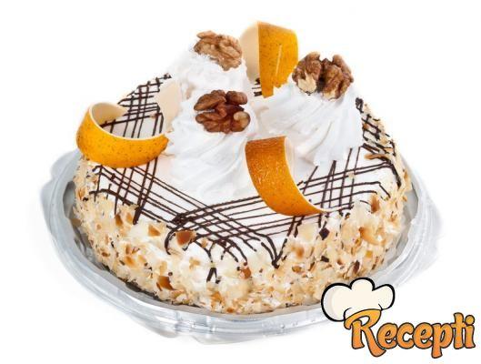 Anina voćna torta sa jafom